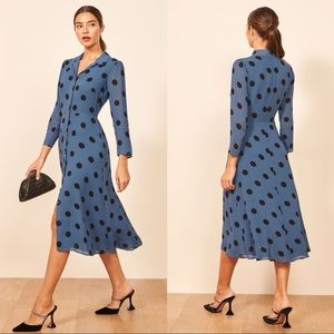 NWT Reformation Arcadia Dress